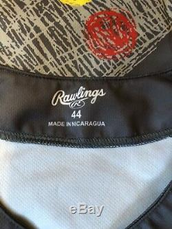 2019 Wander Franco Signé Jeu Utilisé Bowling Green Hot Rods Jersey Tampa Bay Rays