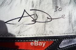 Aaron Dell Recrue 2016-17 Gant Et Bloqueur Signé Utilisé Par Le Jeu San Jose Sharks
