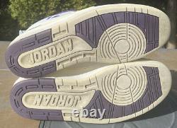 Air Jordan 2 Low Mike Bibby Échantillon Taille 12 Les Deux Signé Jsa Coa Jeu Porté Rare