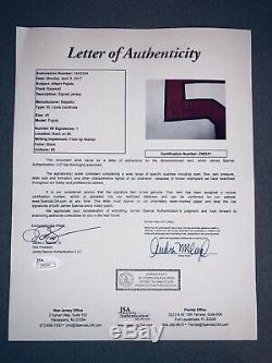 Albert Pujols Signé St. Louis Cardinals 2003 Jeu Utilisé Worn Jersey Auto Jsa Loa