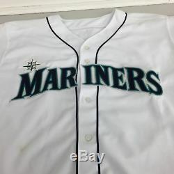 Alex Rodriguez Signé Jeu Utilisé 1998 Seattle Mariners Jersey + Sous-shirt Psa