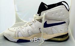Alonzo Mourning Signé Charlotte Hornets Jeu Utilisé Chaussures Nike Jsa