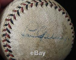 Années 1920: Babe Ruth & Lou Gehrig A Signé Le Jeu De Baseball Utilisé Ball Psa / Dna Cert