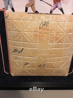 Astros De Houston Jeu Autographié Utilisé Base De La Série Mondiale Année 2017 Coa Jsa