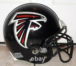 Atlanta Falcons #7 Michael Vick Signed Game Used / Worn NFL Helmet Autograph