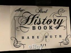 Babe Ruth 1/1 Jeu Autographiée De Bat Barrel Automatique Signée Yankee Masterpiece