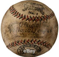 Babe Ruth - Jeu Autographié Et Signé Signé Onl Baseball Psa / Dna