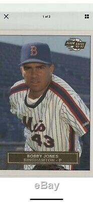 Binghamton Mets Jeu Utilisé Porté Ny Ligue Jersey Aa Mineur Gary Carter Signe + 29