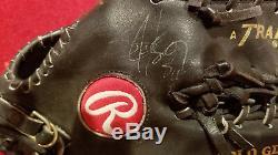Bo Jackson Jeu Utilisé Gant Autographié Autographié Rawlings / Chicago White Sox 1993