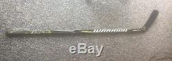 Brad Marchand Boston Bruins Signés Autographié Jeu D'occasion 2017 Guerrier Bâton