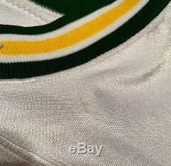 Brett Favre Jeu Utilisé Worn Signé Packers NFL Football Jersey Gf Loa Hof Sb XXXI