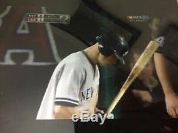 Brett Gardner Yankees Mlb Signees Jeu Utilisé Bat De 2009 Alcs Steiner Sports