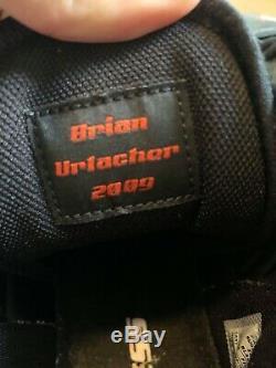 Brian Urlacher Jeu D'occasion 2011 Crampons Saison Signed Autographié Bears De Chicago Hof