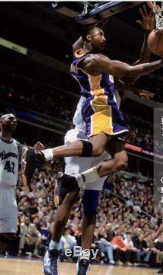 Bryant Signé Kobe Paire De Matchs D'occasion Et Signé Très Rare Chaussures Sur Air Jordan