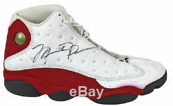 Bulls Michael Jordan Jeu Signé Utilisé 4/17/1998 Nike Air Jordan XIII Chaussures Jsa