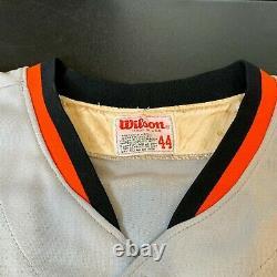 Cal Ripken Jr 1981 Rookie Game Utilisé Jersey Signé Le Plus Tôt Connu Psa Adn Coa