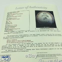 Cal Ripken Jr. 2131 Jeu Utilisé Signé Baseball Record Briser Streak Jeu Jsa