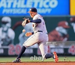 Carlos Correa 2016 Jeu Utilisé Autographié Signé Adidas Baseball Cleats Fanatics