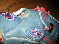 Chicago Cubs 2007 - Jeu Dédicacé - Aramis Ramirez Fielders - Gant Easton - Coa