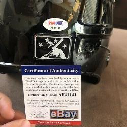 Cody Bellinger Jeu Signé Utilisé Ligue D'automne De L'arizona Casque Dodgers Auto Psa Coa