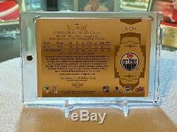 Connor Mcdavid 2018/19 La Coupe Du Splendor Jeu Utilisé Patch Auto # 12/36 Oilers