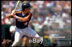 Craig Biggio 1991 Jeux Casques Astros De Houston Autographiés Et Hof Jsa Loa