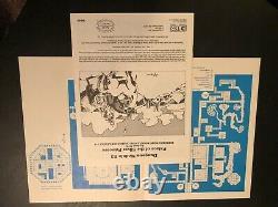 D&d Orange B3 (signé) + Expansion Non Publiée! Palais De La Princesse D'argent