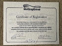Dahntay Jones Jersey Signé Meigray Signé Par Memphis Grizzlies - Coa Inscrit