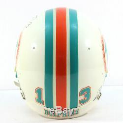 Dan Marino Début Des Années 1990 Jeu Utilisé Équipe Publié Casque Signé Dolphins Mears Loa