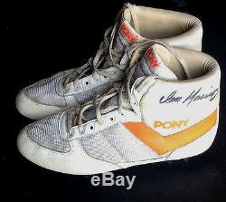 Dan Marino Dolphins A Signé Le Jeu De 1985 Avec Des Taquets De Poney Rookie Year Auto Jsa Loa