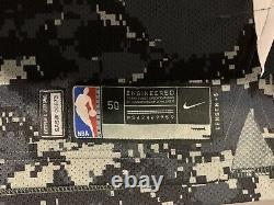 Danny Green Game Used Jersey Spurs Camo Autographed W Inscription Pic Lakers Six