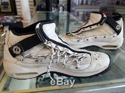 Dennis Rodman Jeu De Basket-ball Nike Signature D'occasion Chaussures 1995-96 Bulls Saison Wow