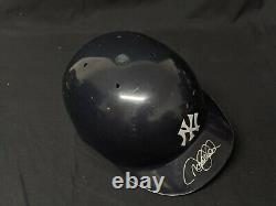 Derek Jeter Game Utilisé Signé Ny Yankees Casque Batting Psa Mlb Steiner Coa