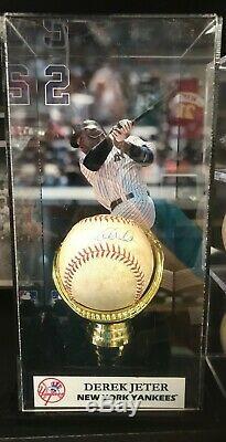 Derek Jeter Jeu Signé Utilisé Baseball Steiner Coa Authentiques Yankees