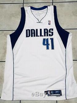 Dirk Nowitzki Dallas Mavericks Game Jersey De Psa / Adn Autographié D'occasion