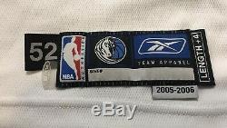 Dirk Nowitzki Dallas Mavericks Game Jersey De Psa / Adn Autographié Usé Coupe Pro