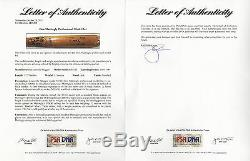 Don Mattingly Signed Pro Model Game Occasion Yankees Louisville Slugger Bat Marlins