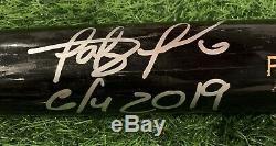 Fernando Tatis Jr San Diego Padres Jeu Utilisé Bat 2019 Rookie Saison Signé Loa