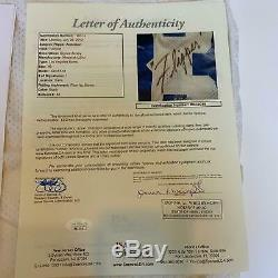 Flipper Anderson 1980 Signé Rookie Jeu Utilisé Los Angeles Rams Jersey Jsa Coa