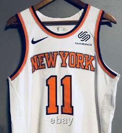 Frank Ntilikina New York Knicks 12/14/17 Jeu Signé Utilisé Maillot Usé (steiner)
