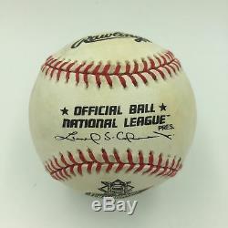 Gary Carter Et Mike Piazza Ont Signé Le Premier Jeu Psa De Baseball De 1999