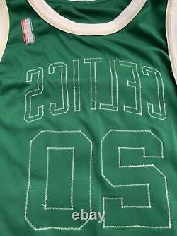 Gary Payton 2004-2005 Jeu Publié / Utilisé Boston Celtics Jersey Autographié Nba Bgs
