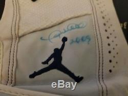 Gary Sheffield 2009 Utilisé Gants De Frappeur Jordan Mets Autographiés De New York