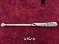 Gary Sheffield Jeu Signé Detroit Tigers Bat Utilisé Yankees Hologram