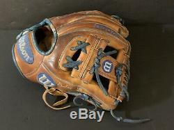 Gavin Lux Los Angeles Dodgers Autographié Signé 2019 Jeu Utilisé Fielding Glove