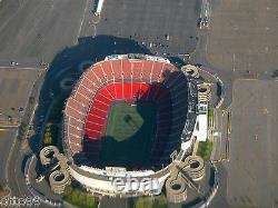 Giants Stadium Meadowlands Jeu Utilisé Upper Tier Signe New York Jets Ny Red Bulls