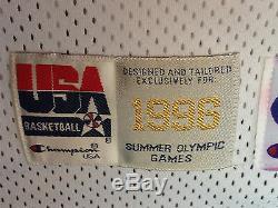Grant Hill A Signé Le Jeu Utilisé 1996 97 USA Maillot De Basketball Olympique Auto Jsa Coa
