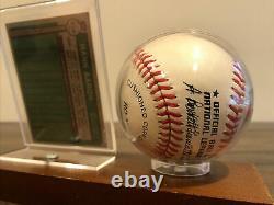 Hank Aaron A Signé Un Jeu De Baseball Autographié Used Ball