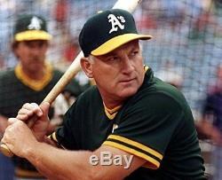 Harmon Killebrew 1981 Utilisé Utilisé Maillot De Baseball Signé Oakland Athletics