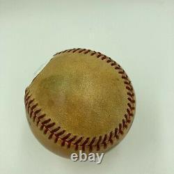 Historique Pete Rose 4192 Record Breaking Hit Signé Jeu Utilisé Baseball Jsa Coa